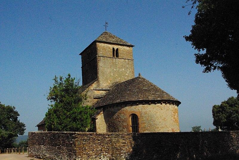 Photo du Monument Historique Eglise situé à Burgy