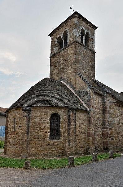 Photo du Monument Historique Eglise situé à Bussières