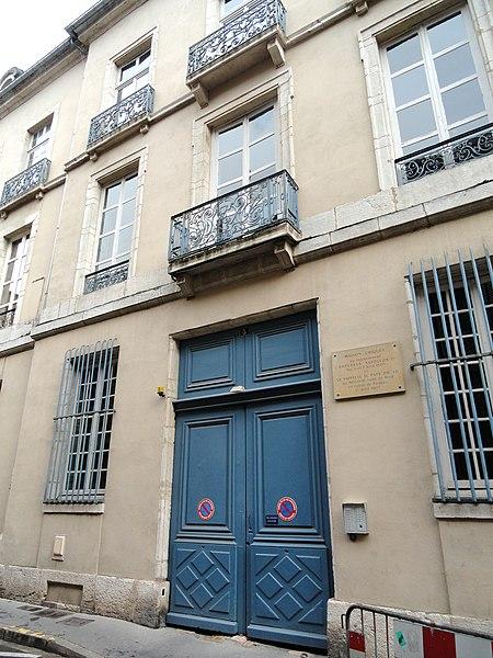 Photo du Monument Historique Hôtel Chiquet situé à Chalon-sur-Saône