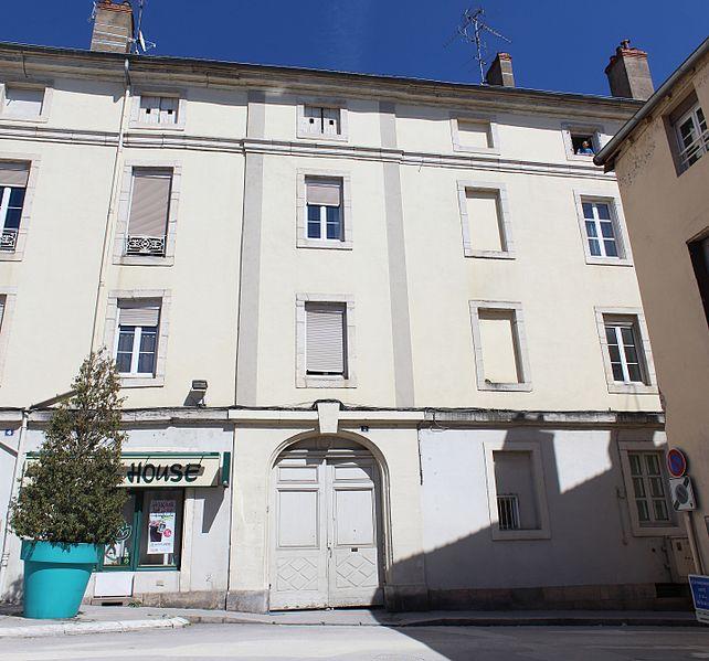 Photo du Monument Historique Immeuble situé à Chalon-sur-Saône