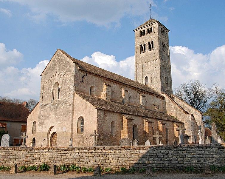 Photo du Monument Historique Eglise Saint-Martin situé à Chapaize