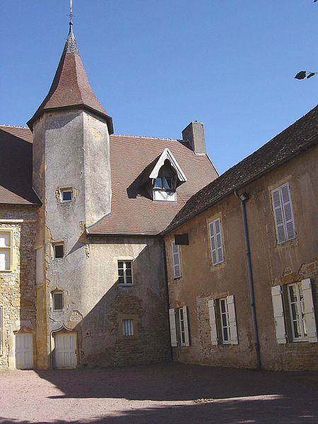 Photo du Monument Historique Prieuré de la Magdeleine situé à Charolles