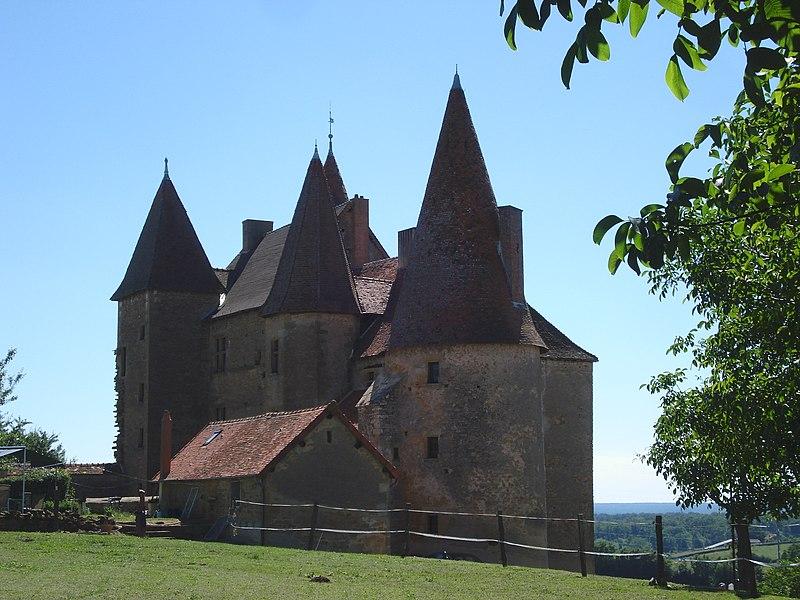 Photo du Monument Historique Château de Chassy situé à Chassy