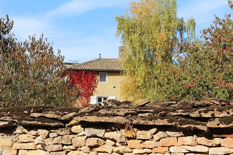 Photo du Monument Historique Maison Rubat situé à Chevagny-les-Chevrières