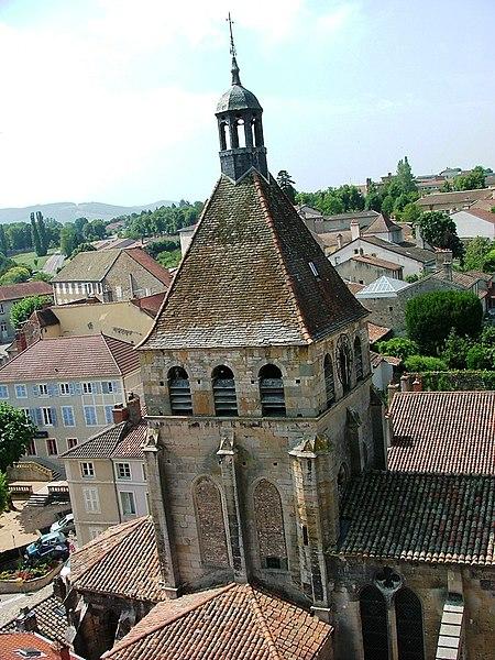 Photo du Monument Historique Eglise Notre-Dame situé à Cluny