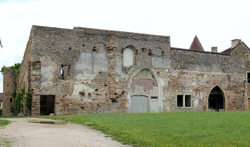 Photo du Monument Historique Prieuré Saint-Mayeul (restes de l'ancien) situé à Cluny