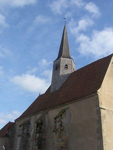 Photo du Monument Historique Eglise situé à Cordesse