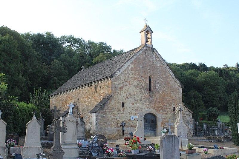 Photo du Monument Historique Cimetière situé à Cuiseaux