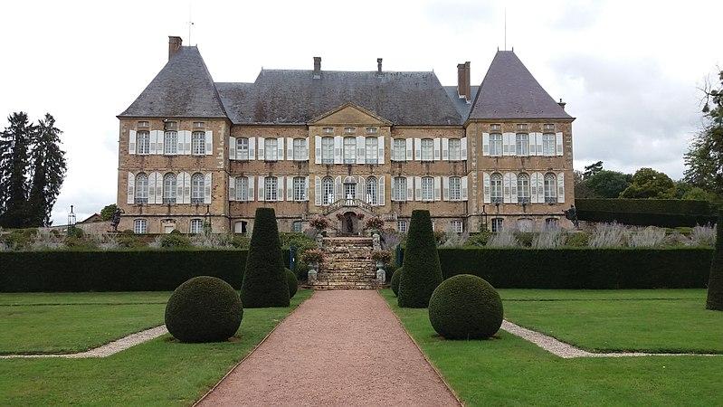 Photo du Monument Historique Château de Drée situé à Curbigny