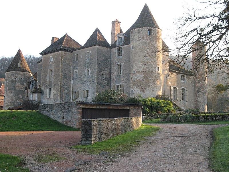 Photo du Monument Historique Château de Balleure situé à Etrigny