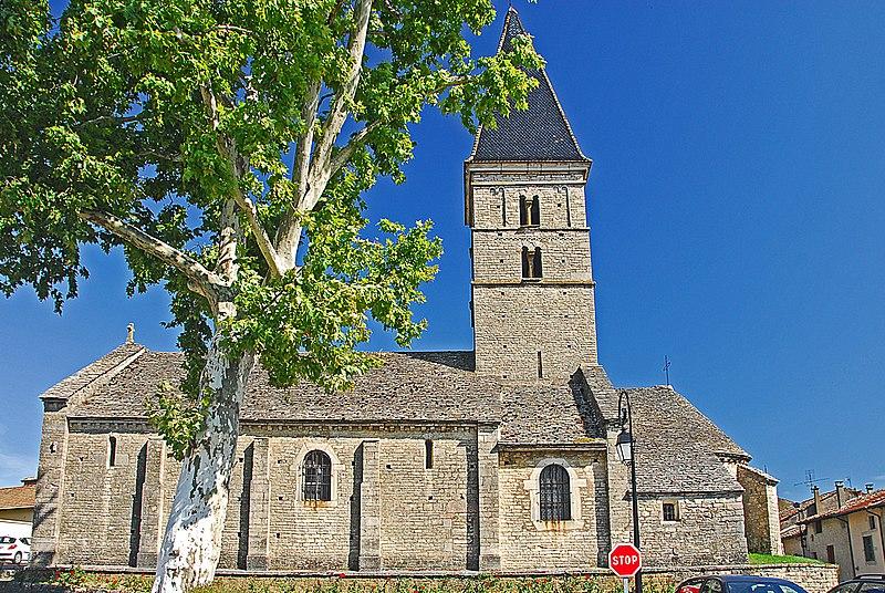Photo du Monument Historique Eglise situé à Farges-lès-Mâcon