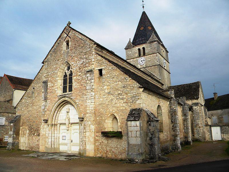 Photo du Monument Historique Eglise Saint-Just situé à Fontaines