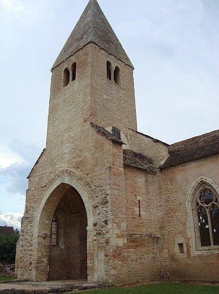 Photo du Monument Historique Eglise de Cortiambles situé à Givry
