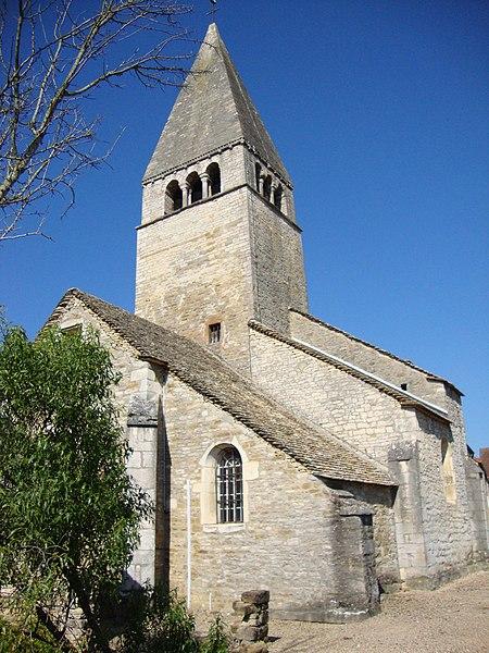 Photo du Monument Historique Eglise Saint-Bénigne situé à Jambles