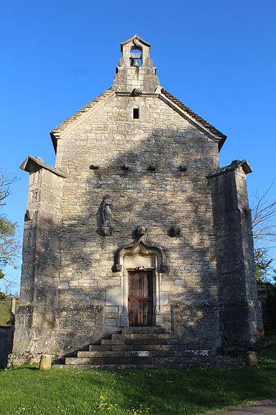 Photo du Monument Historique Chapelle de Lenoux situé à Laives