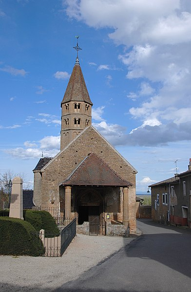 Photo du Monument Historique Eglise situé à Mâcon