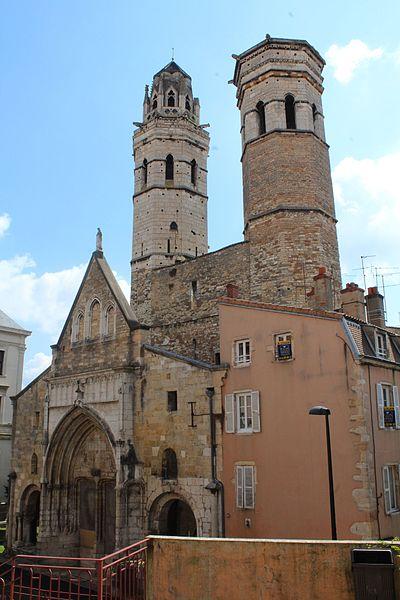 Photo du Monument Historique Cathédrale Saint-Vincent situé à Mâcon