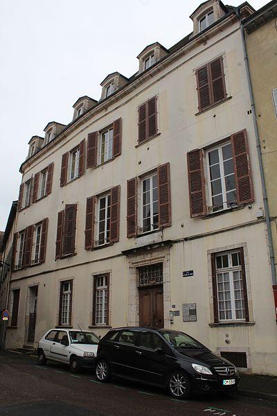 Photo du Monument Historique Hôtel de Lamartine situé à Mâcon