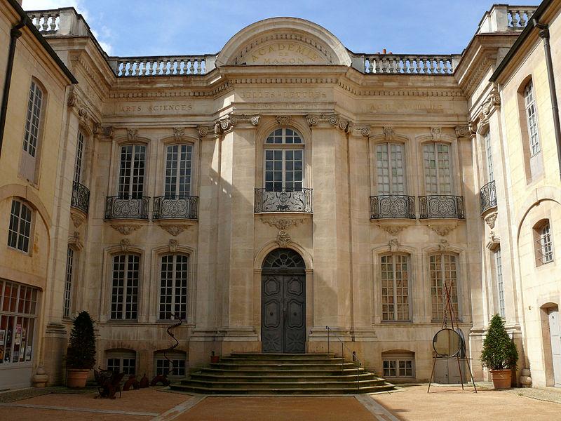 Photo du Monument Historique Hôtel Senecé situé à Mâcon
