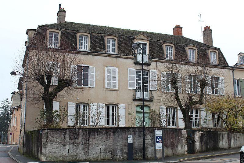 Photo du Monument Historique Hôtel Vantey situé à Mâcon
