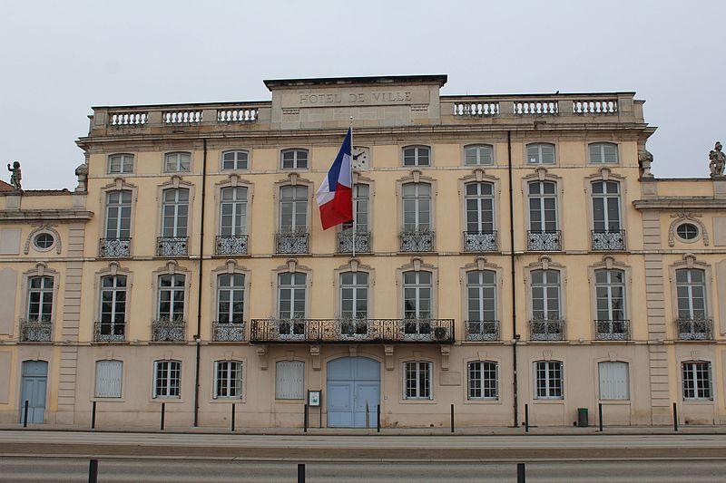 Photo du Monument Historique Hôtel de ville situé à Mâcon