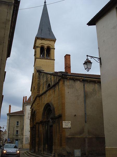 Photo du Monument Historique Eglise Saint-Nicolas situé à Marcigny