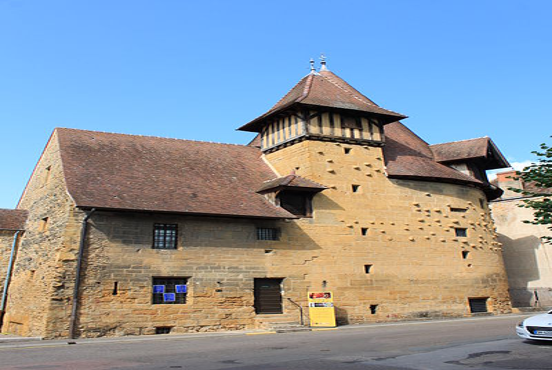 Photo du Monument Historique Tour du moulin situé à Marcigny