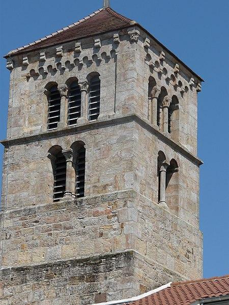 Photo du Monument Historique Eglise Sainte-Euphémie situé à Martigny-le-Comte