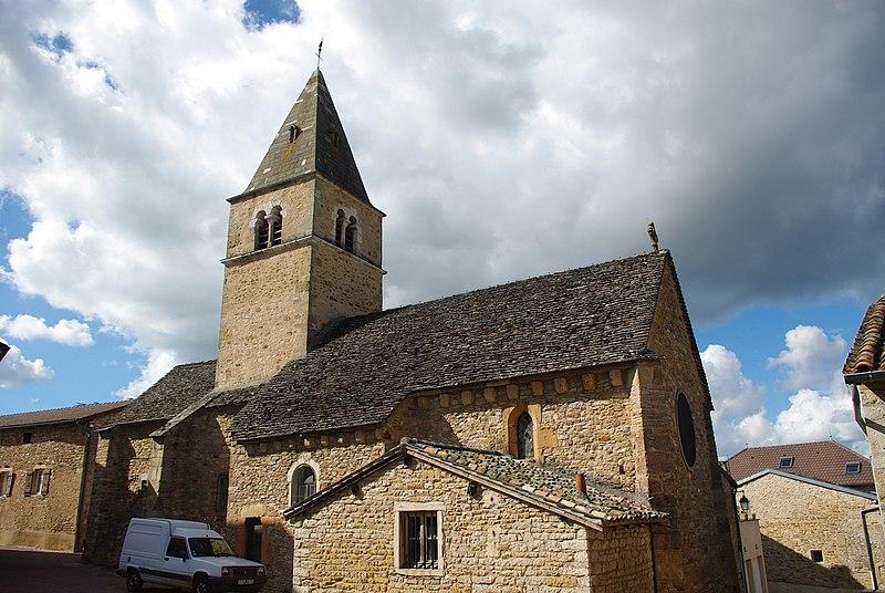 Photo du Monument Historique Eglise Saint-Jacques-le-Majeur situé à Milly-Lamartine