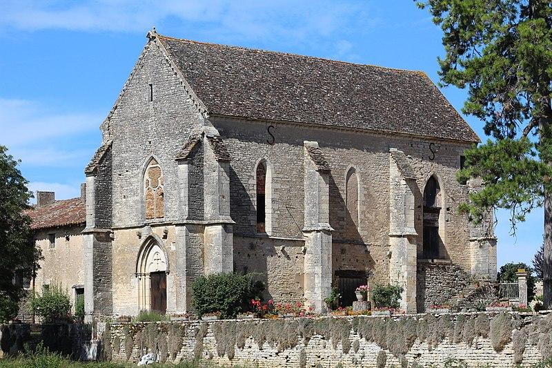 Photo du Monument Historique Ancienne commanderie du Temple Sainte-Catherine situé à Montbellet