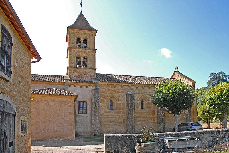 Photo du Monument Historique Eglise Saint-Pierre Saint-Paul situé à Montceaux-l'Etoile