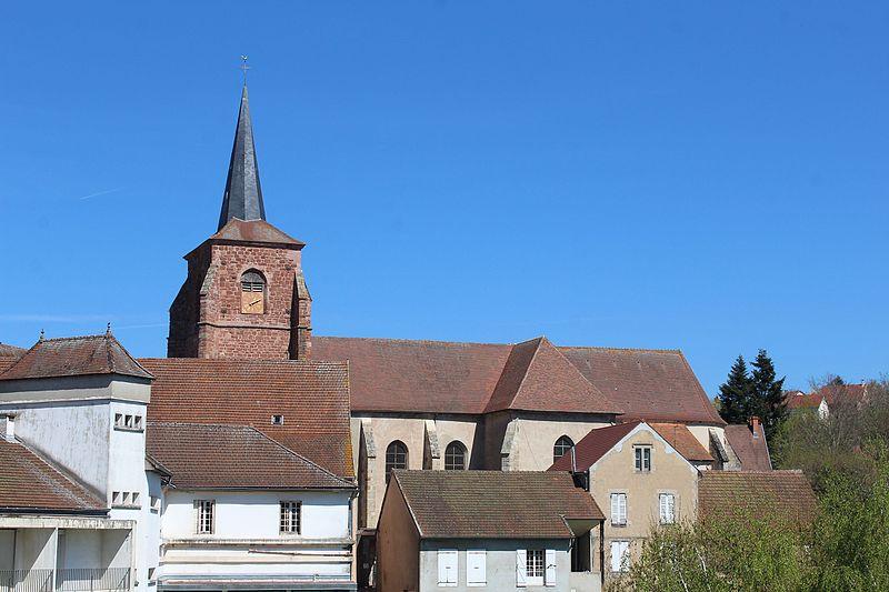 Photo du Monument Historique Eglise de l'Assomption situé à Montcenis