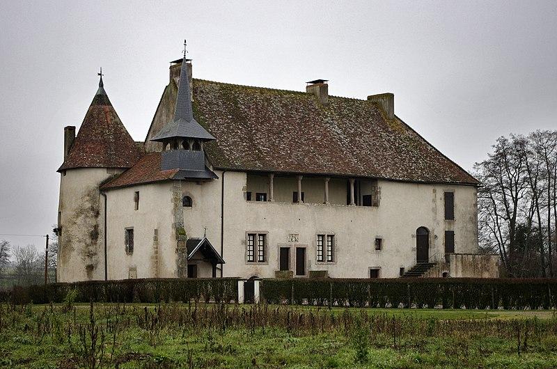 Photo du Monument Historique Château situé à Monthelon