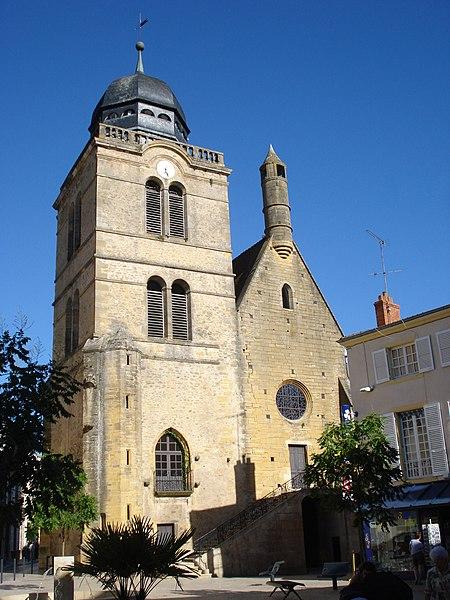 Photo du Monument Historique Eglise Saint-Nicolas situé à Paray-le-Monial