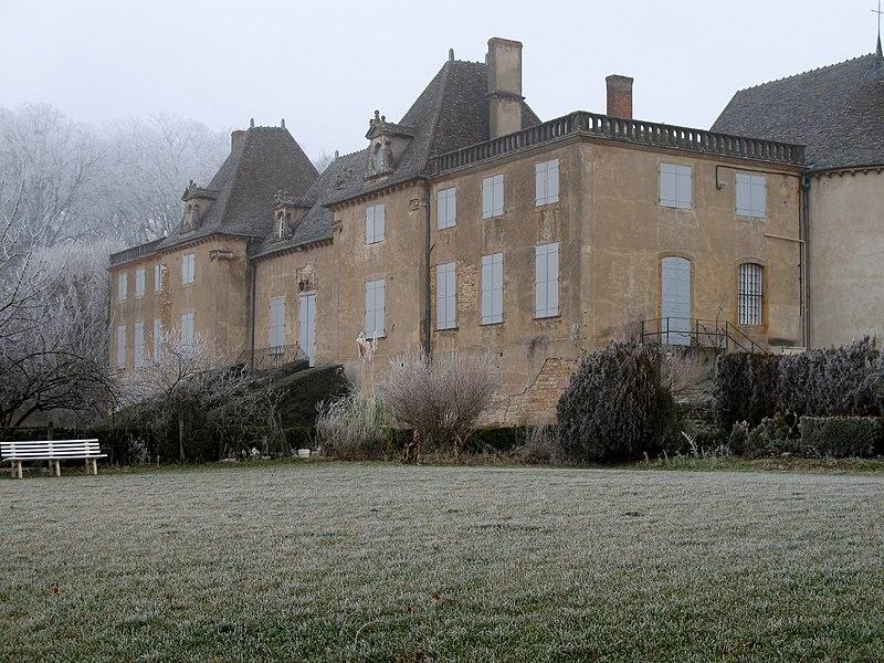 Photo du Monument Historique Château de Monceau situé à Prissé