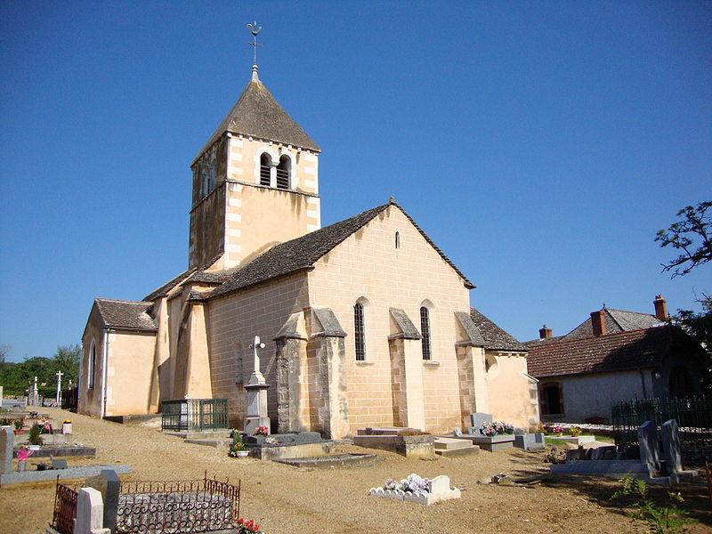 Photo du Monument Historique Eglise situé à Rosey