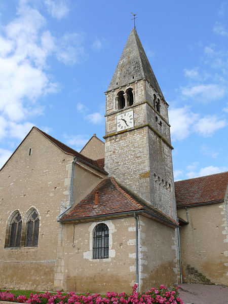 Photo du Monument Historique Eglise situé à Saint-Boil