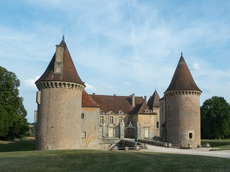 Photo du Monument Historique Château d'Epiry situé à Saint-Emiland