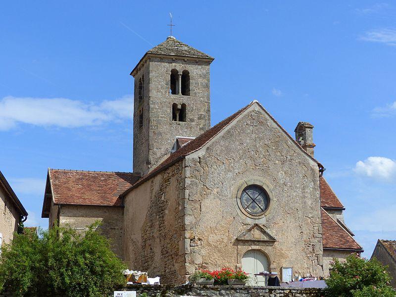Photo du Monument Historique Eglise situé à Saint-Huruge