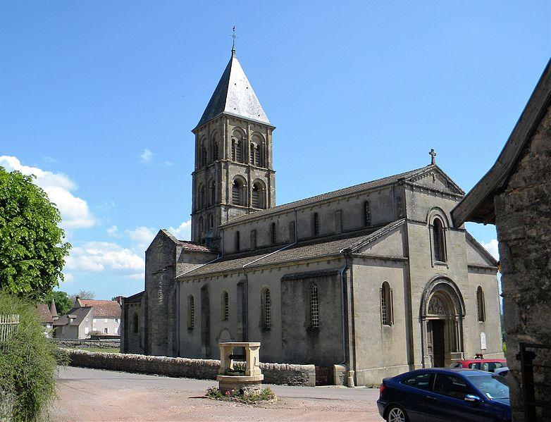 Photo du Monument Historique Eglise situé à Saint-Laurent-en-Brionnais