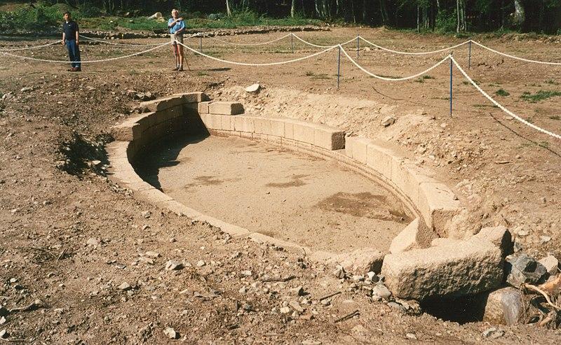Photo du Monument Historique Oppidum du Mont-Beuvray, dit aussi oppidum de Bibracte (également sur commune de Glux-en-Glenne, dans la Nièvre) situé à Saint-Léger-sous-Beuvray