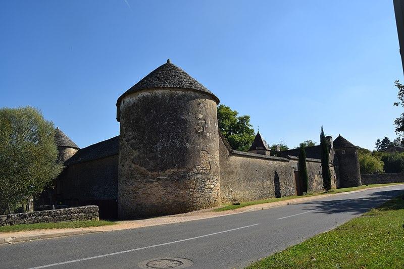 Photo du Monument Historique Château situé à Saint-Martin-Belle-Roche
