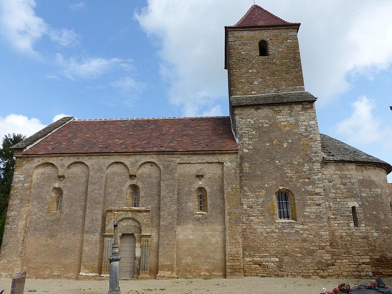 Photo du Monument Historique Eglise situé à Saint-Maurice-des-Champs