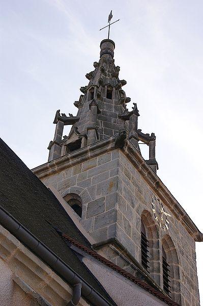 Photo du Monument Historique Eglise Saint-Saturnin situé à Saint-Sernin-du-Plain