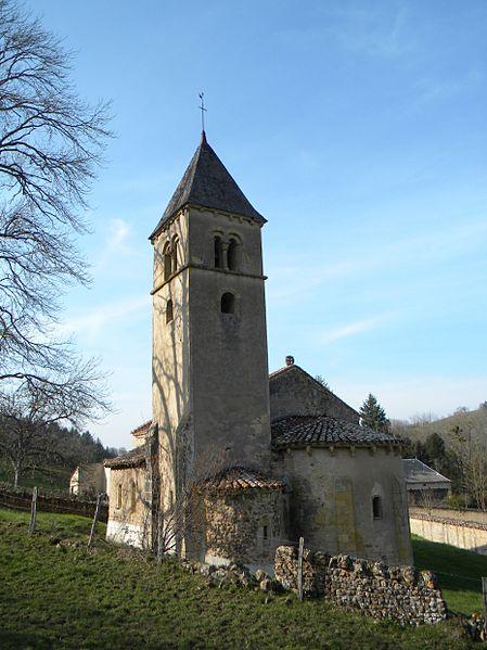 Photo du Monument Historique Eglise Saint-Martin-la-Vallée situé à Semur-en-Brionnais