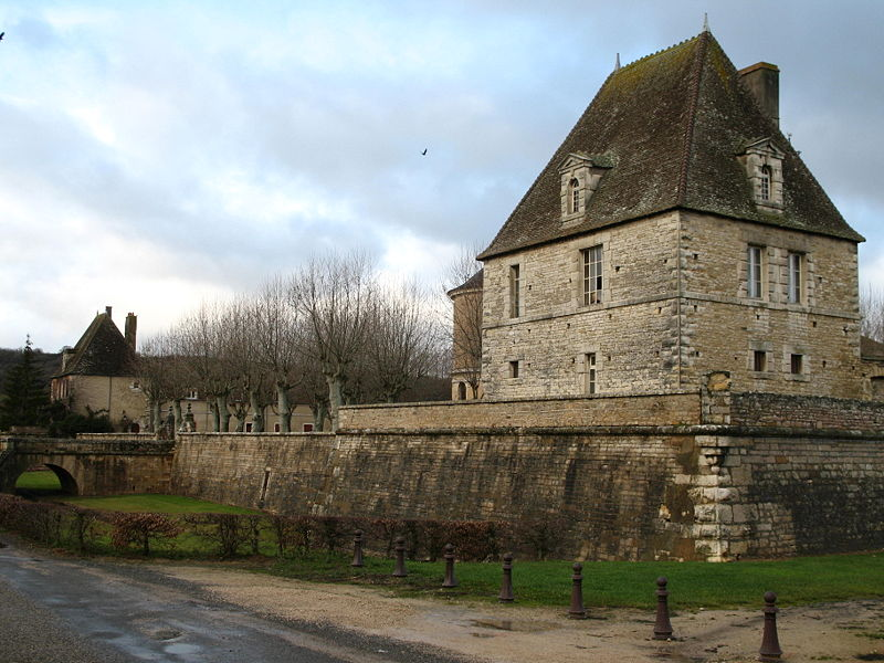 Photo du Monument Historique Château situé à Sennecey-le-Grand