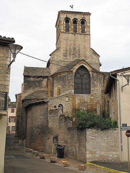 Photo du Monument Historique Eglise de la Madeleine situé à Tournus