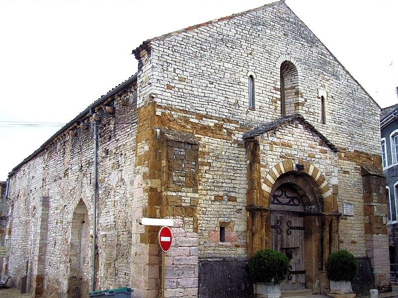 Photo du Monument Historique Eglise Saint-Valérien situé à Tournus