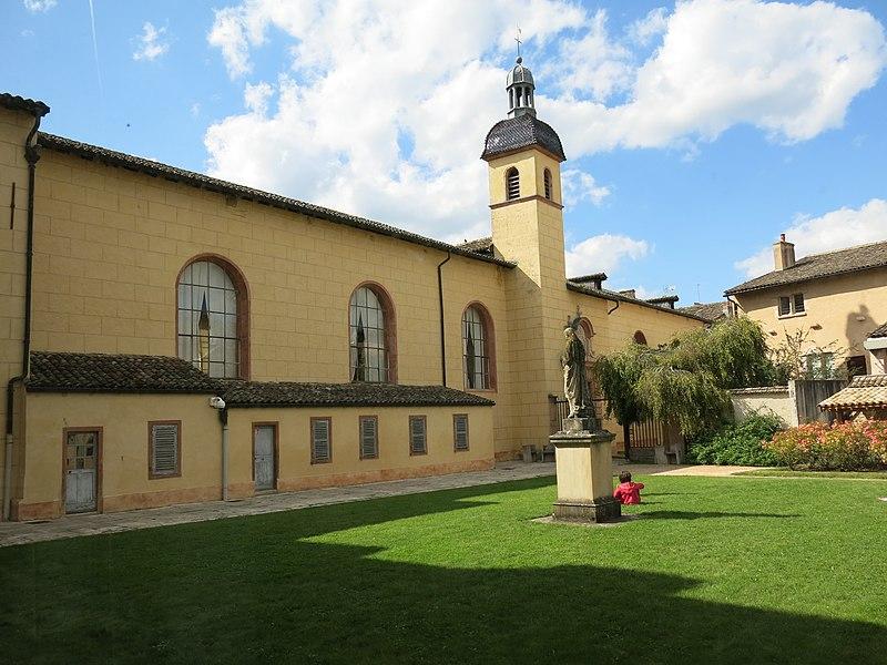 Photo du Monument Historique Hôtel Dieu situé à Tournus