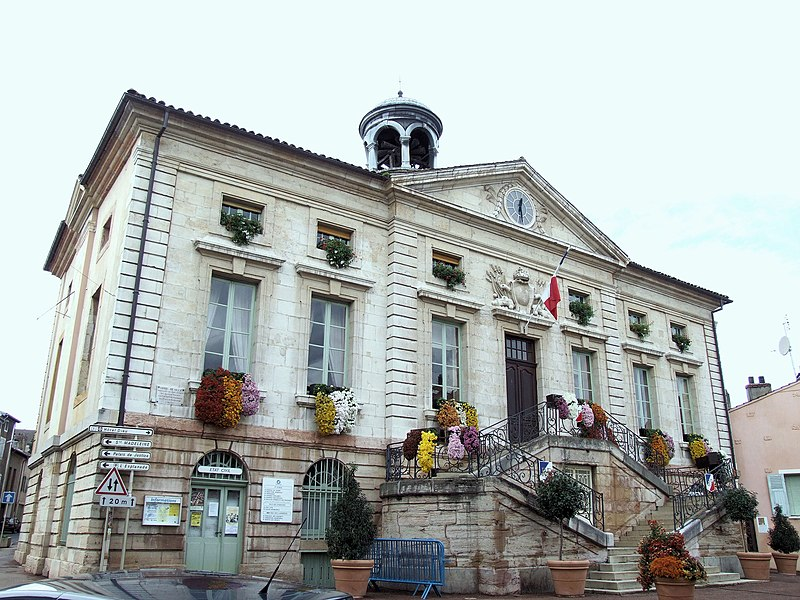 Photo du Monument Historique Hôtel de ville situé à Tournus